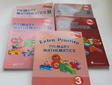 Primary Math Extra 3 Set(US Edition) -Workbooks/Texbooks 3A+3B+ Extra Practice 3