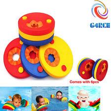 G4RCE 6 Pcs Swim Discs EVA Foam Arm Bands Float For Swimming Baby Kids Children