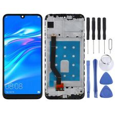 For Huawei Y7 Pro 2019 LCD Screen Touch Digitizer Glass With Frame BLACK
