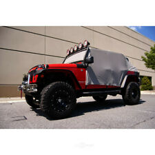 Truck Cab Top Cover-Cab Cover Gray 07-16 Jeep Wrangler JKU fits 2007 Wrangler