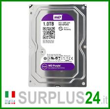 "Hard Disk WESTERN DIGITAL WD10PURX WD PURPLE 1 TB SATA 3.5"" interno NUOVO"