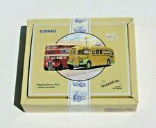 Corgi Double Decker Bus Devon General AEC REGAL 2 Pc Set