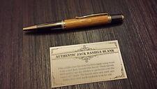 Jack Daniels Pen made with wood from Jack Daniels Barrel