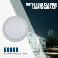 DC 12V LED Interior Ceiling Light Bulb for Caravan Motorhome Van Boat Round