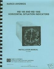 NARCO HSI 100/HSI 100S INDICATOR  INSTALLATION MANUAL