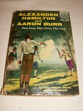 Alexander Hamilton Aaron Burr Landmark Books 85 Crouse 1958 1st printing HC/DJ