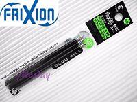 9 x refills Pilot Frixion LFBTRF30EF 0.5mm Erasable Roller Ball Pen, BLACK