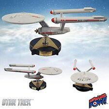 Star Trek The Original Series U.S.S. Enterprise NCC-1701 Bobble Head Ship & new