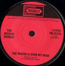 "THE ROCKIN' BERRIES the water is over my head 7N 35270 uk 1965 7"" WS EX-/"