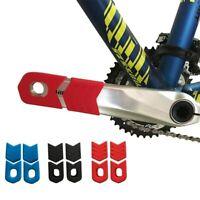 Soft Silicone Mountain Bicycle Crank arm Boots/Protectors Bikes Crankset case US