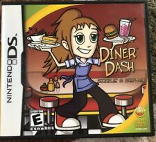 DINER DASH Excellent with booklet for Nintendo DS Lite