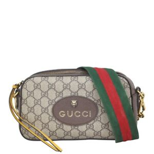 Authentic Gucci Neo Vintage GG Supreme Messenger Bag