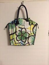 Womens Multi Color Claudia Satchel  Handbag sz xl