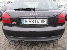 S3 Stoßstange hinten Audi S3 8L ebonyschwarz LZ9W Stoßfänger schwarz A3