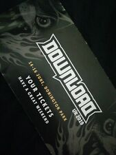 DOWNLOAD FESTIVAL UK 2019 + CAMPING PASS 5 DAYS