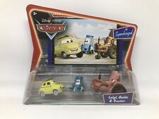 Disney Pixar Cars SUPERCHARGED - LUIGI GUIDO & TRACTOR 1:55 Scale Die cast RARE