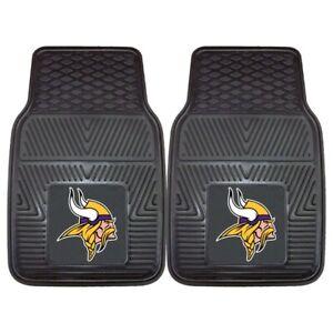 NFL Minnesota Vikings Auto Front Floor Mats 1 Pair by Fanmats