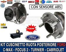 KIT CUSCINETTO MOZZO RUOTA POSTERIORE FORD FOCUS 2 II / C-MAX 1.6 / 1.8 / 2.0