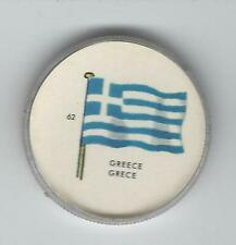 1963 General Mills Flags of the World Premium Coins #62 Greece