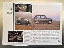 Suzuki Vitara Brochure – Soft Top and Estate - First generation (1988–1998)