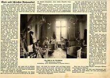 Rohrmöbel-Werkstätten Willi Heinemann Coburg Text+Bild von 1913