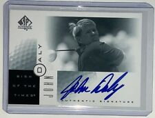 2001 Upper Deck SP Authentic John Daly Sign of the Times Auto Autograph SOTT