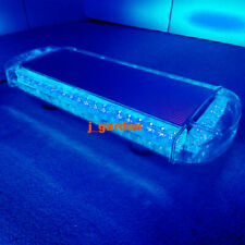 "22"" 48 LED Blue LightBar Emergency Warning LightBar Recovery Rescue Beacon Light"