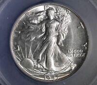 1947 Walking Liberty Half Dollar GEM 50C
