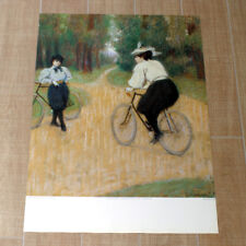 FEDERICO ZANDOMENIGHI poster manifesto affiche Bicycle Bici Vélo Art 1988 A35