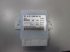 MERCEDES-BENZ w211 Classe E dispositif de commande parktronic système a2115450016
