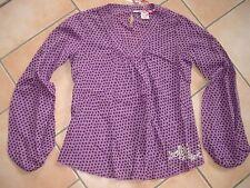 (C417) Nolita Pocket Girls Bluse Tunika Ballon Ärmel & Glitzer Logo Druck gr.152