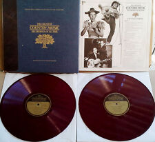 FRANKLIN MINT - COUNTRY COMEDY - (2) LP BOX SET - RED VINYL - 1982- VAR. ARTISTS