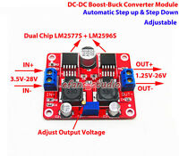 Mini DC-DC Boost Buck Step Up Down Adjustable Converter Module 4-28V to 2-26V 3A