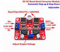 3A DC-DC Boost Buck Step Up Down Voltage Converter 4V-28V to 3.3V 5V 9V 12V 24V
