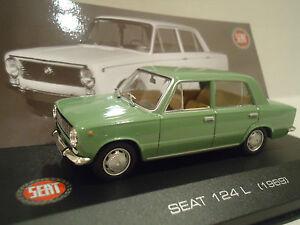 SEAT 124 L (1969) ALTAYA/IXO 1/43