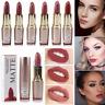 MISS ROSE Matte Nude Lipstick Waterproof Long Lasting Lip Gloss Cosmetic Makeup