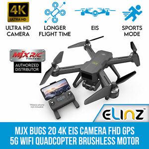MJX Bugs 20 4K EIS Camera FHD GPS RC Drone 5G WiFi Quadcopter B20 Tripod Mode