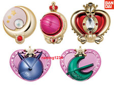 BANDAI Sailor Moon Rod & Stick Transformation Compact Mirror Gashapon Set of 5