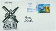 Mort Walker Cartoonist Signed First Day Issue Cover FDC JSA Authenticated