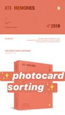 [PREORDER] BTS MEMORIES OF 2019 DVD + PHOTOCARD SORTING