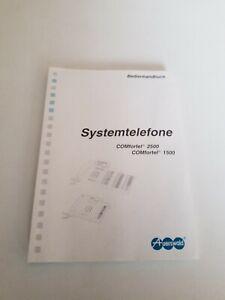 Bedienungsanleitung/Bedienhandbuch COMfortel 1500 / 2500