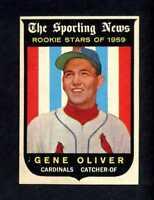 1959 TOPPS # 135  GENE OLIVER  NM