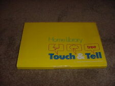 VINTAGE TEXAS INSTRUMENT LEARNING CENTER HOME LIBRARY TOUCH & TELL 1981