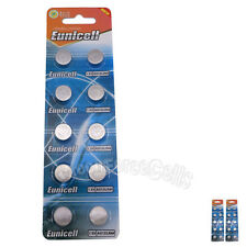20 pcs AG13 GP76 357A SR44SW RW42 1.5V Alkaline Button Cell Battery EuniCell