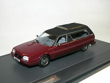 Matrix, 1985 Citroen CX Break Heuliez Corbillard, Hearse, Leichenwagen, 1/43
