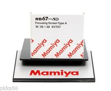 Mamiya RB 67 PRO SD FOCUSING SCREEN type A (( 36 x 48 MASK LINE ))