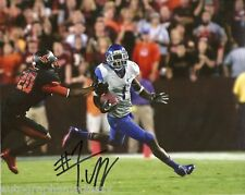 TITUS YOUNG BOISE STATE BRONCOS SIGNED 8X10 PHOTO COA