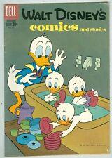 Walt Disney Comics and Stories #231 December 1959 G/VG Barks art
