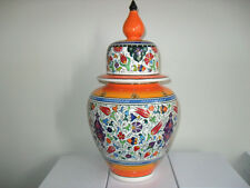 VINTAGE VASE ,HAND MADE, HAND PAINTED FROM TURKEY