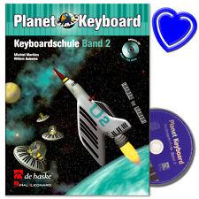 Planet Keyboard 2 -  Keyboardschule mit CD von Michiel Merkies - 9789043117272